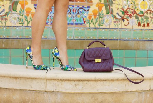 missyonmadison, melissa tierney, fashion blog, fashion blogger, fall style, fall outfit inspo, forever 21, olive green dress, olive green skater dress, forever 21 skater dress, floral pumps, floral pointed toe pumps, floral print heels, vera bradley, vera bradley bag, purple satchel, leather purple satchel, fall handbags, fall shoes, how to wear olive green, ray bans, monogram necklace, baublebar monogram necklace, la blogger,